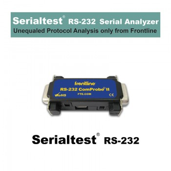 Serialtest RS-232 Cover Picture with ComProbe RS-232 II