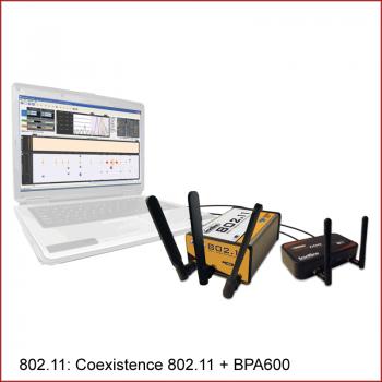 Coexistence Frontline 802.11 plus Frontline BPA600
