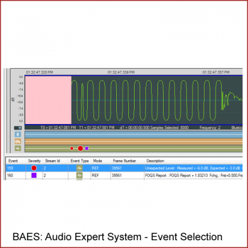 Bluetooth Audio Expert System: Event Table Selection